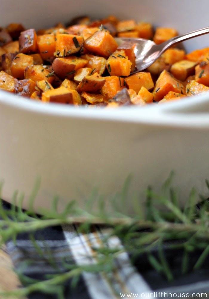 paleo roasted sweet potatoes