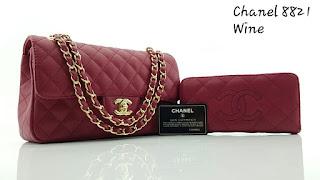 Tas KW Chanel Yuni Shara Semi Premium 8821CC Jakarta