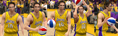 NBA 2K13 Steve Nash Cyber Face Modding