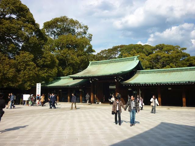 santuario di Meiji, tokyo