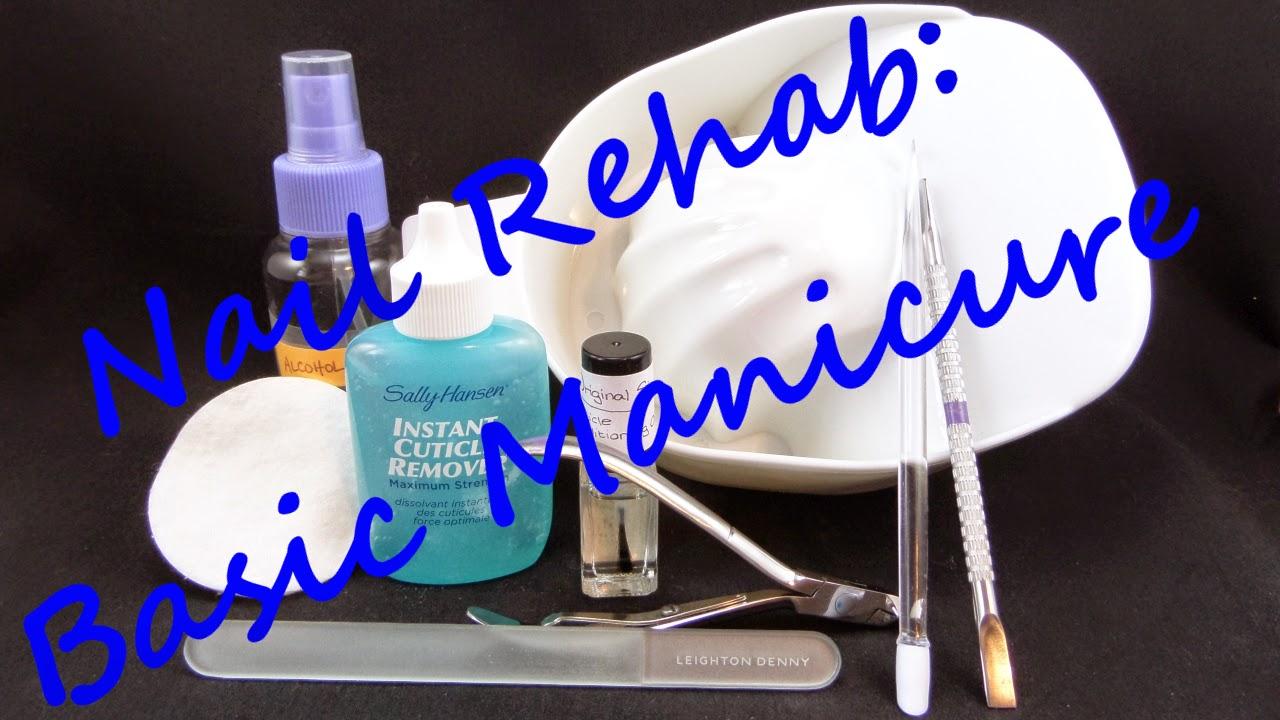 Nail Rehab Basic Manicure