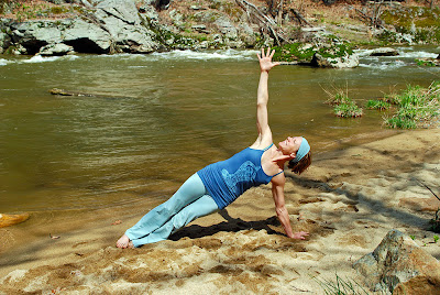 yoga+pose - Strike A Pose in the Yoga Organic Tank