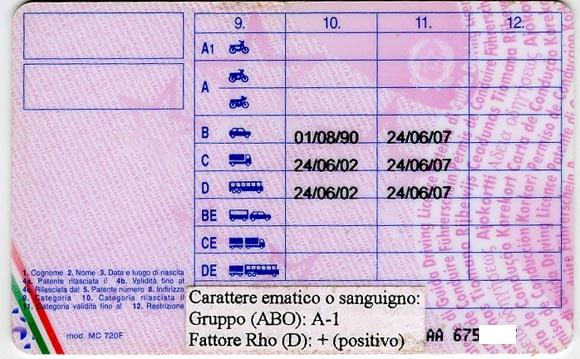 scadenza di validità della patente di guida prorogata sino alla data
