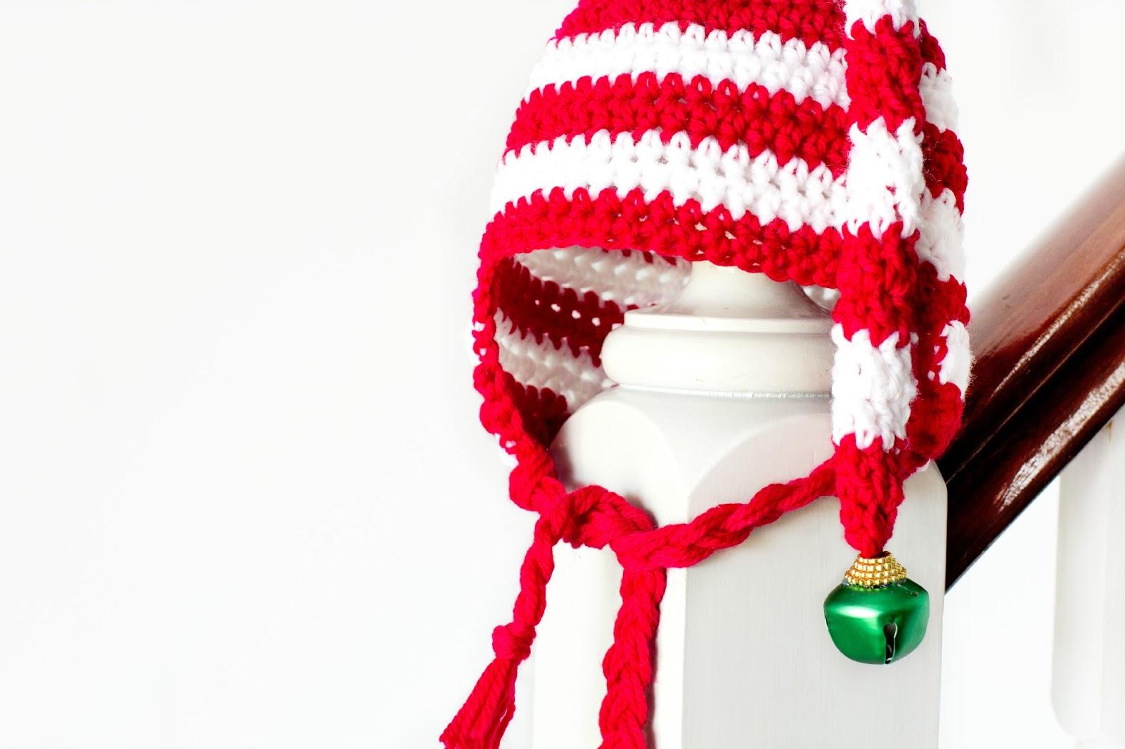 Bonito Patrón De Sombrero De Ganchillo Elf Embellecimiento - Manta ...