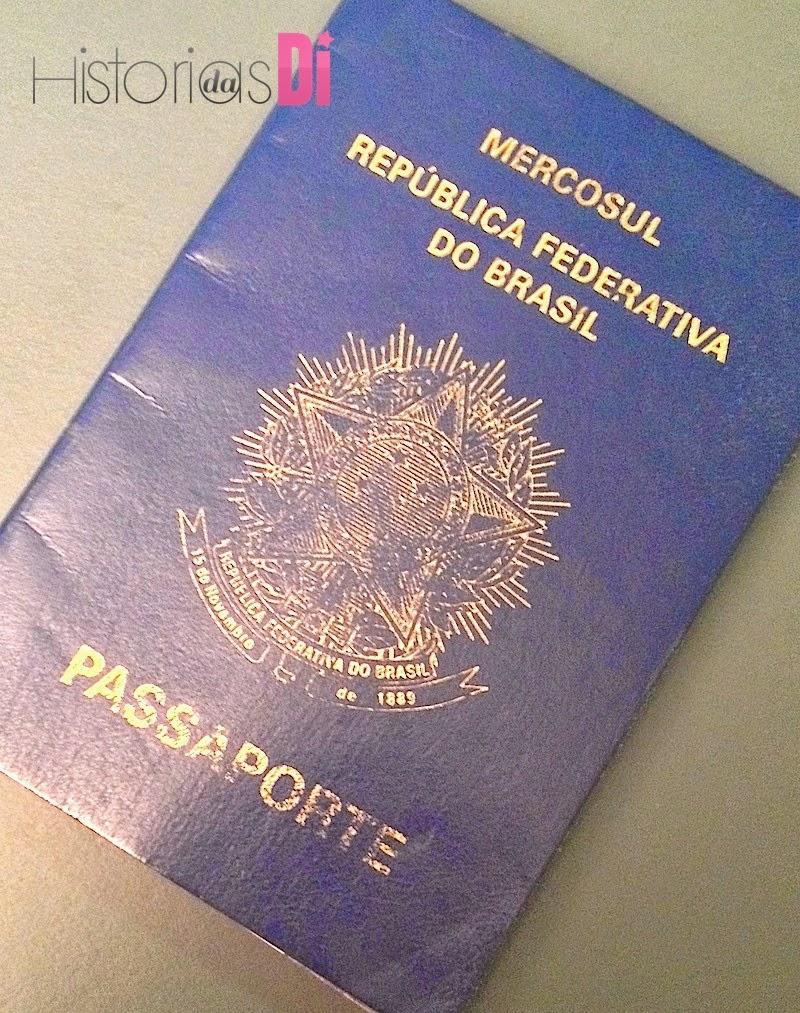 Passaporte com a validade em dia