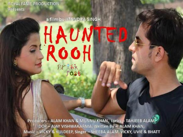 Mushtaq Khan and Shalini Pandey in Haunted Rooh movie still