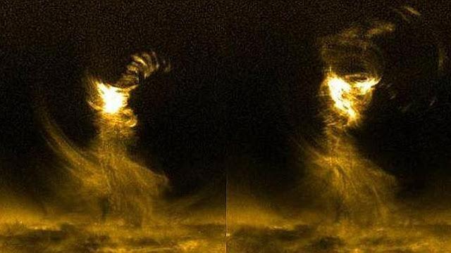 Un tornado solar cinco veces más grande que la Tierra