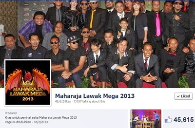 page Maharaja Lawak Mega 2013