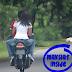 Hukum Berkepit Dengan Kekasih Atas Motor