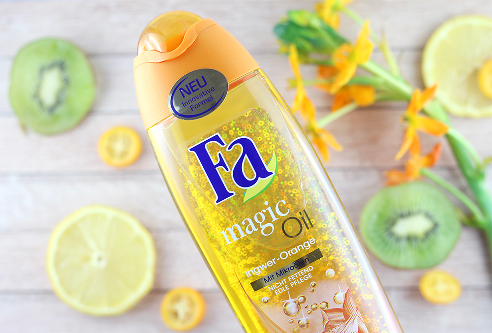GLOSSYBOX Fresh 'n' Fruity Edition - Fa Magic Oil Ingwer-Orange Duschgel