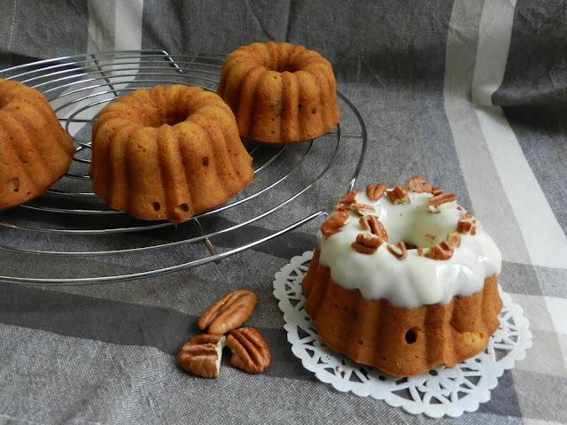Mini Carrot Bundt Cake Recipe