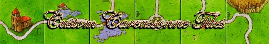 Custom Carcassonne Tiles