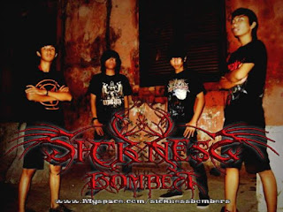 Sickness Bomber Band Swedish Metalcore Bekasi