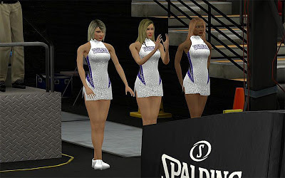 NBA 2K13 Sacramento Kings Cheerleaders Patch