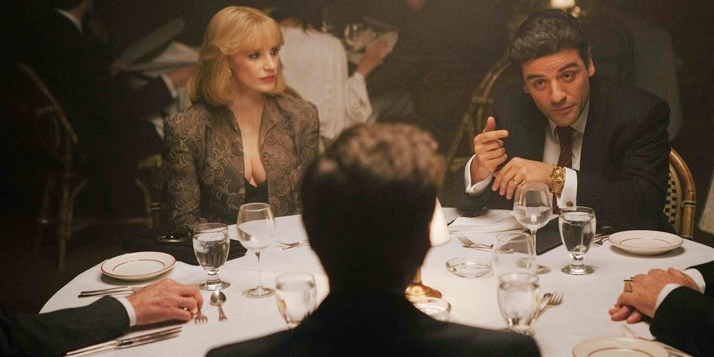 Jessica Chastain e Oscar Isaac em O ANO MAIS VIOLENTO (A Most Violent Year)