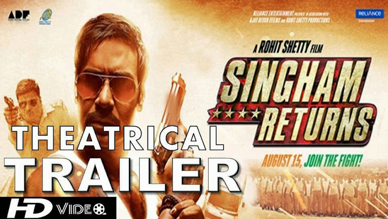 Singham Returns (2014) Full Theatrical Trailer Free Download And Watch Online at worldfree4u.com