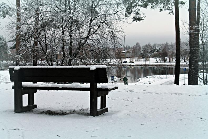 talvi Joensuu Pielisjoki