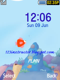 Samsung SCH-S569 Sea Theme Download Wallpaper