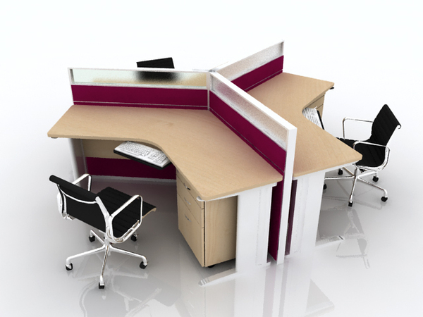White Corner Desks Workstations INTERIOR DESIGN