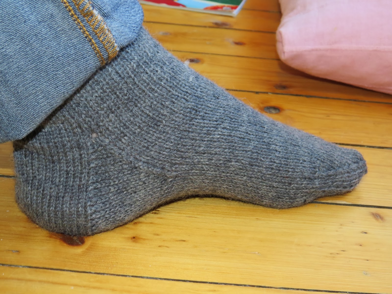 Basic Knitting Stitches Ssk : A colourful life: January socks - plain and simple