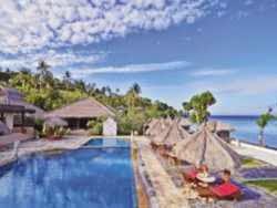 Hotel Bintang 3 di Lombok - Pasific Beach Cottages & Villas