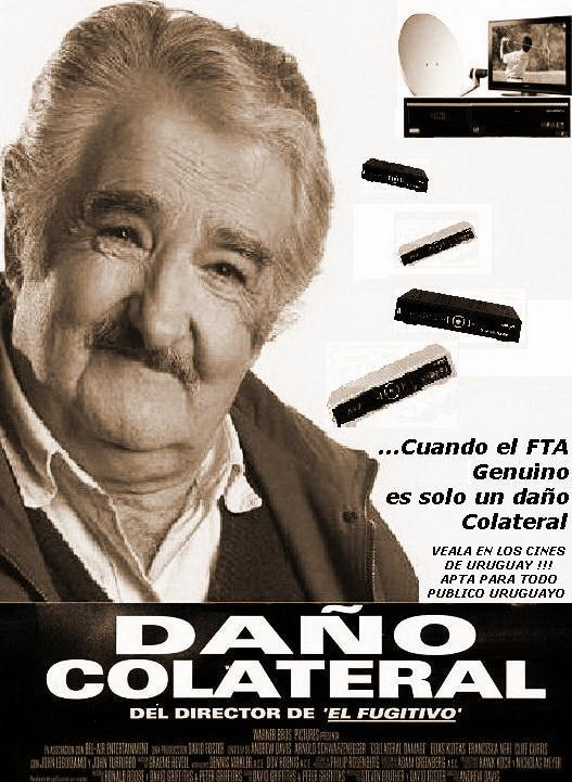 prohiben antenas satelitales FTA uruguay