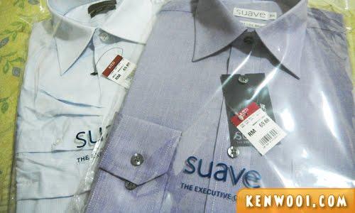 suave shirts