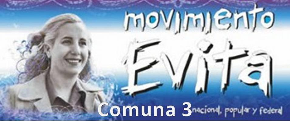 MOVIMIENTO EVITA COMUNA 3