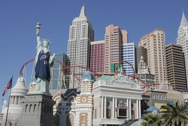statue of liberty las vegas comparison. statue of liberty stamp vegas.