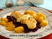 Filety zo zubáča s chrenovou omáčkou - recept