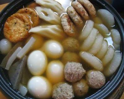 Oden (Sup bakso)