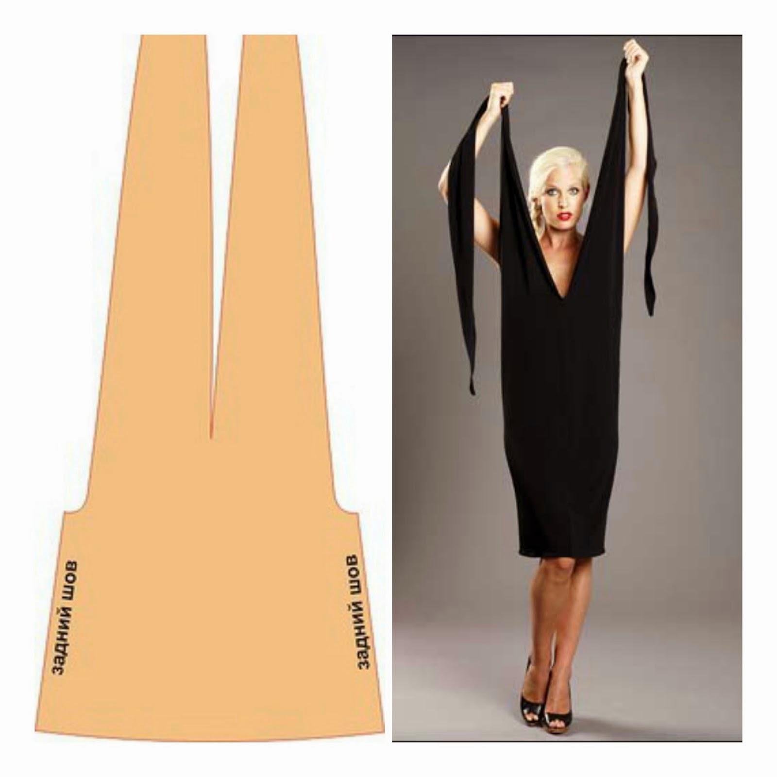 Favoloso Tutorial vestito trasformabile. Come fare un vestito in pochi  PY18