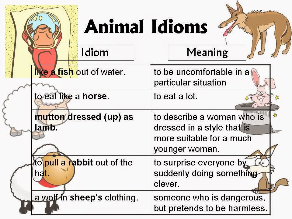 idioms and meanings for kids - photo #9