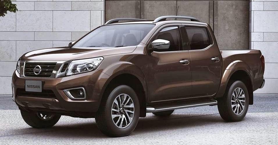 Nova Nissan Frontier 4x4 picape media
