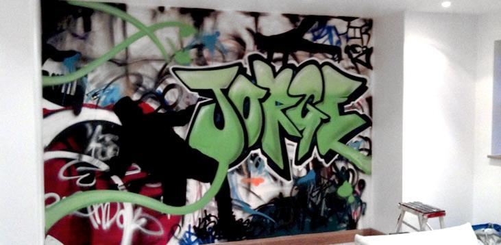 Graffiti Bedroom Essex Graffiti Artist For Hire