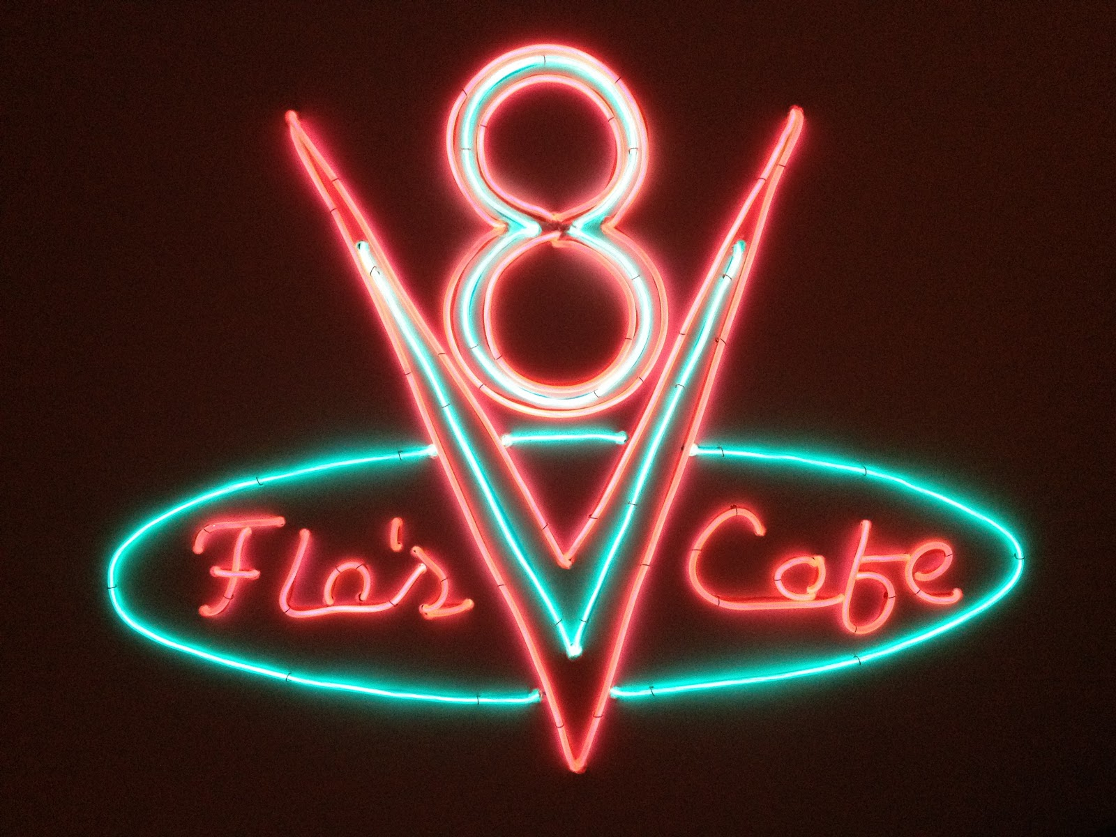 Fix it dad: Flo\'s V8 Cafe