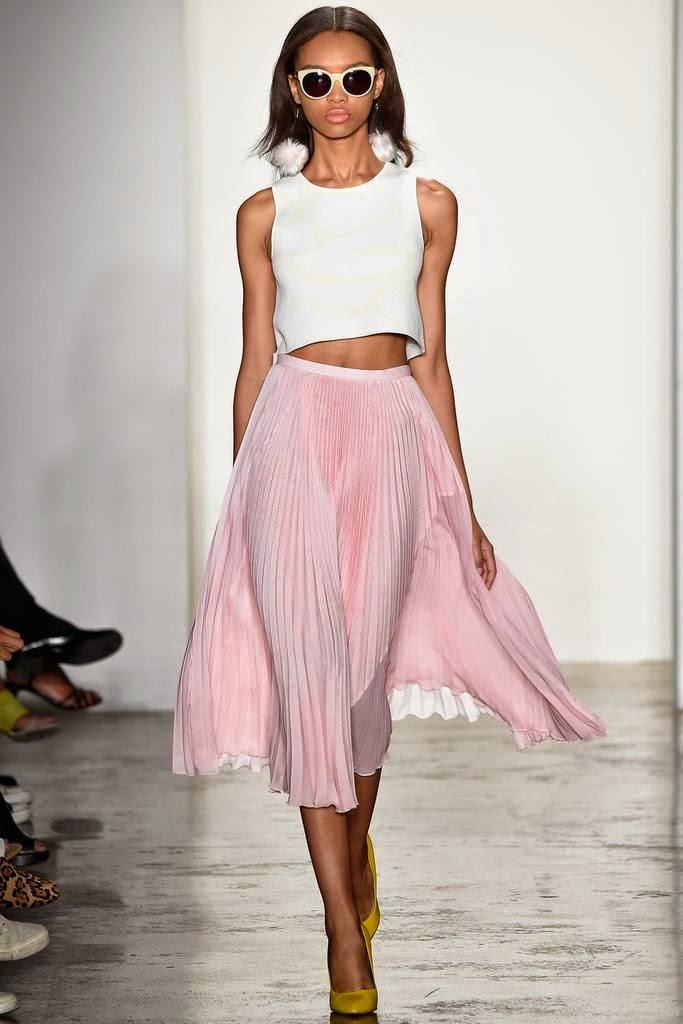 Tendências moda primavera-verão 2015 cor rosa