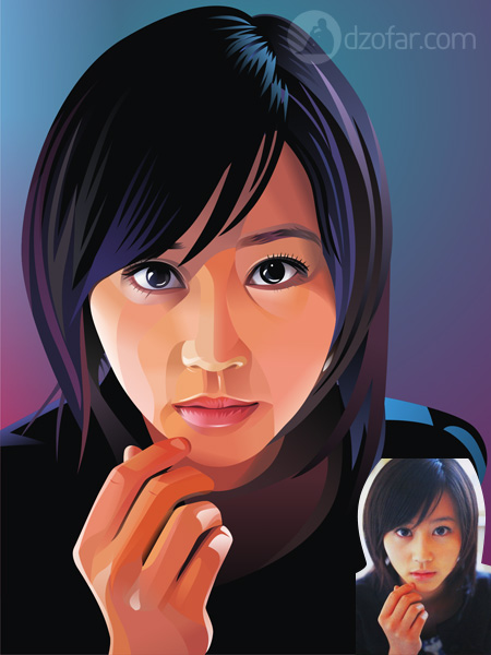 Horikita Maki Vector Real