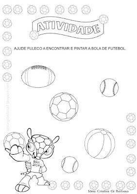 Atividade Copa do Mundo 2013