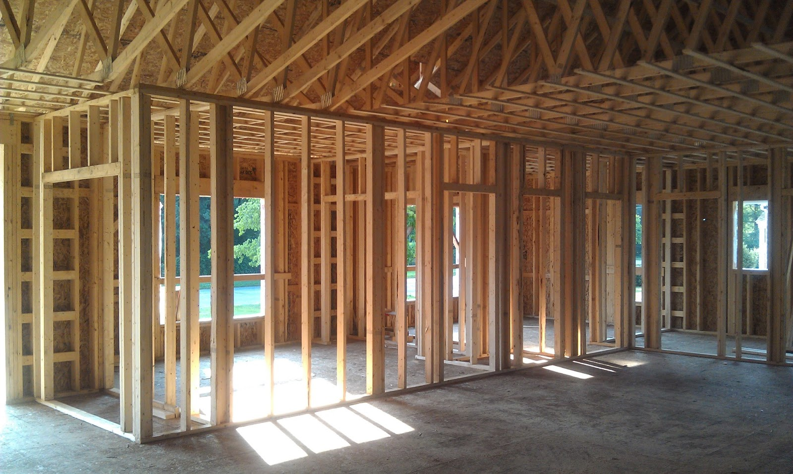 Ocean State Home: Starting the Interior Framing