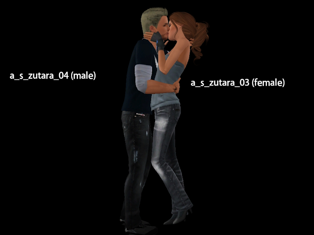 Sims 3 Kissing Poses