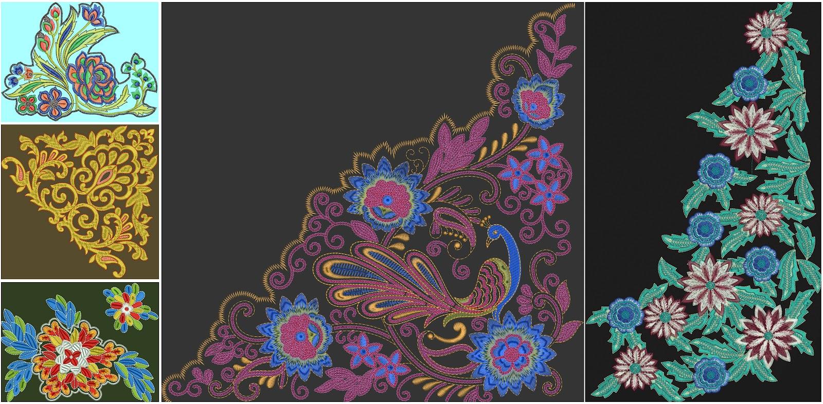 Schiffli Embroidery Designs Download