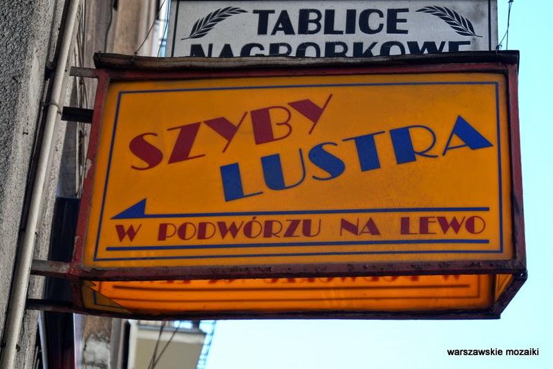 Warszawa Praga Ząbkowska usługi szklarz
