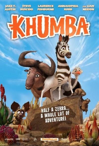 khumba 24837 Khumba, la cebra sin rayas (2013) Español Latino
