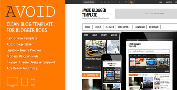 Avoid Blogger Template – Themeforest