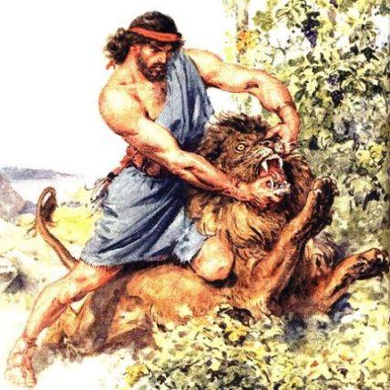 Judges 14 : 5-6 (Samson Killed a Lion)
