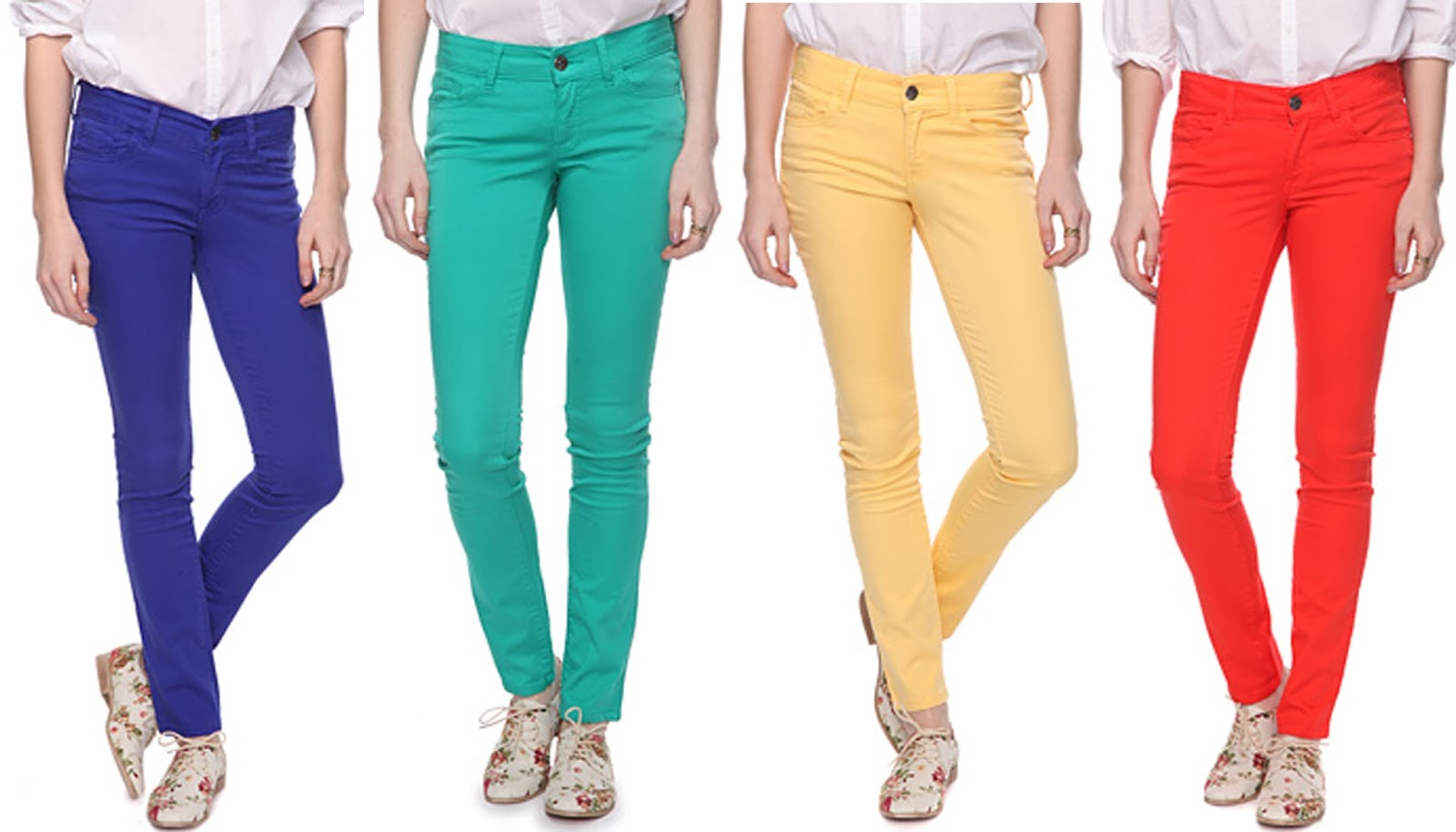 Show your true colors with colored denim from hereufilbk.gq Colored high-waisted super skinny jeans, skin-tight leggings & black ripped jeans available!