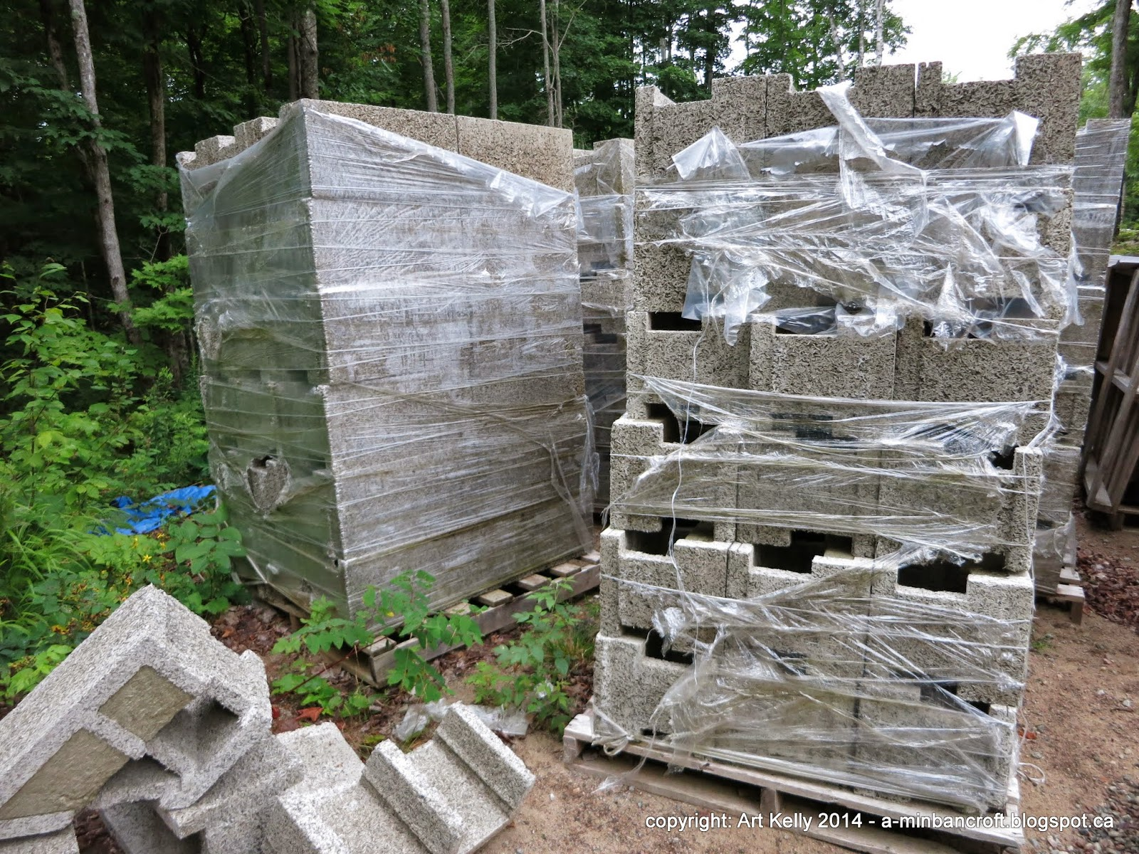 Living off grid n w for sale for Icf blocks for sale