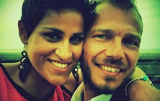 karima ammar e il fidanzato riccardo
