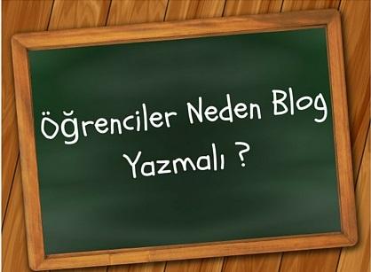 öğrenciler neden blog yazmalı